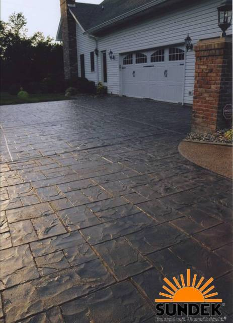 Driveways Sundek Concrete Coatings And Concrete Repair