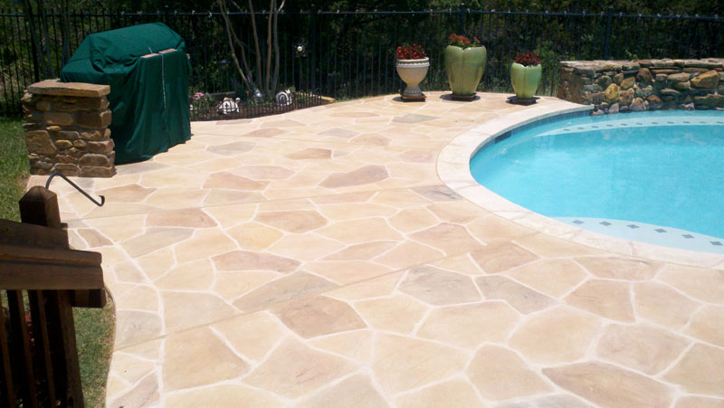Slip Resistant Decorative Concrete