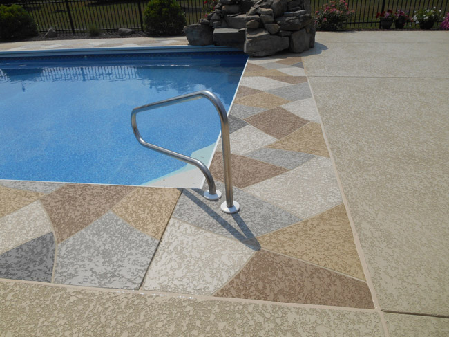 pool deck resurfacing - sundek concrete coatings and concrete repair