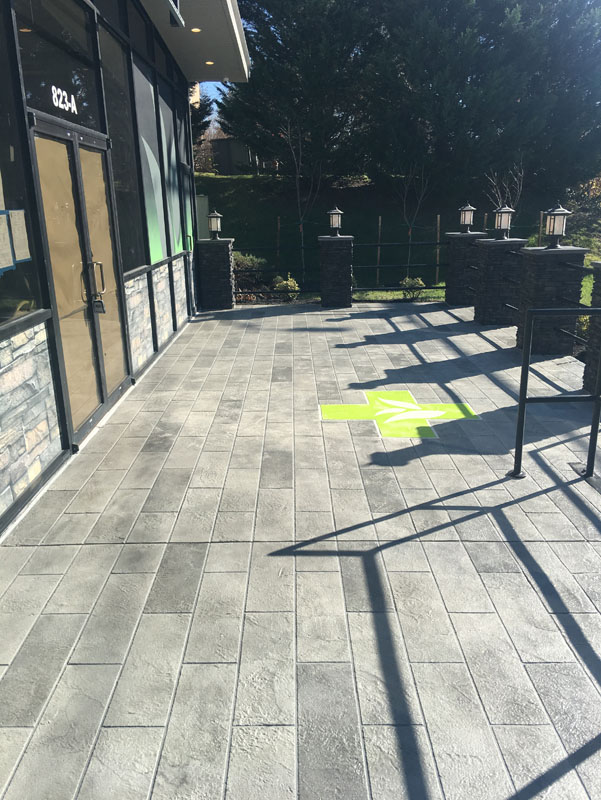 Decorative Concrete Systems for an Entryway