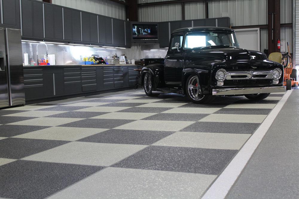 Garage Floor With SunSplash