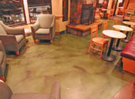 Sundek Decorative Concrete Coffee Shop Flooring
