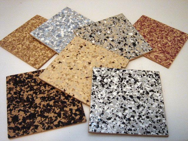 Color Flake Floors