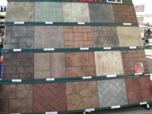 concrete stamping patterns